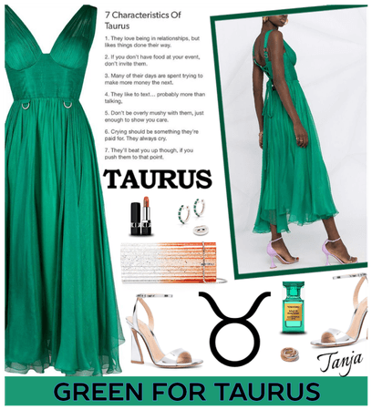 Green for Taurus