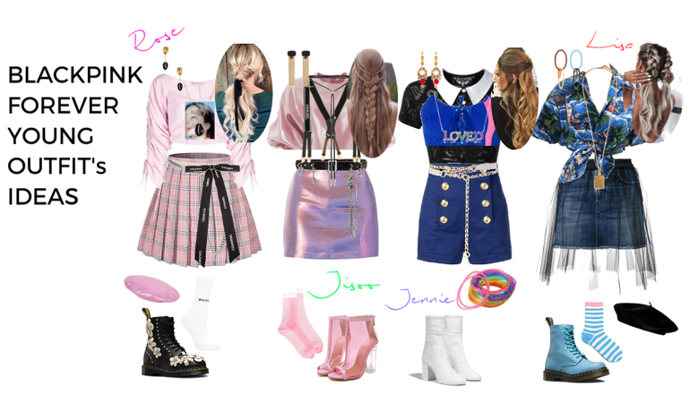 Blackpink Forever Young Outfit's #!