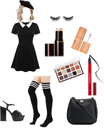Creepy Schoolgirl outfit