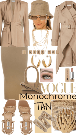 Tan: Minimal Monochrome