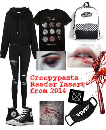 creepypasta reader insert from 2014 starter pack