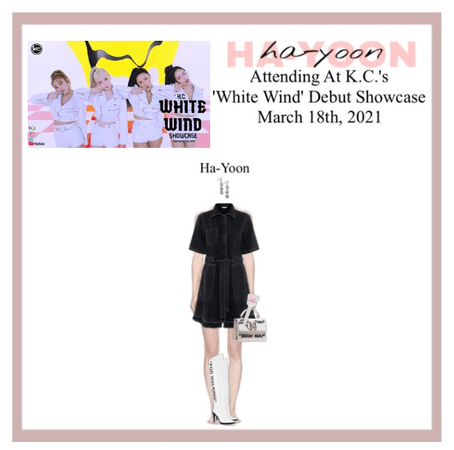 /HA-YOON/ K.C.'s 'White Wind' Debut Showcase