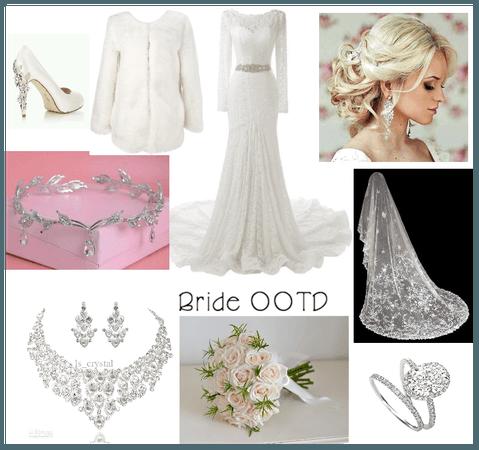 Bride OOTD