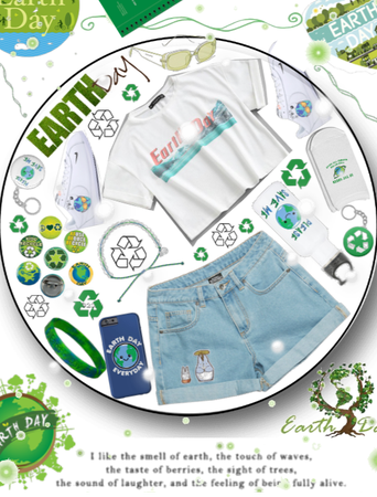  Earth Day Challenge  GREEN OUT  