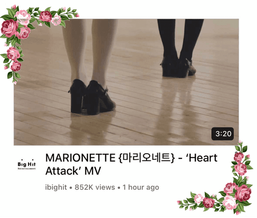 {MARIONETTE} 'Heart Attack' MV Official
