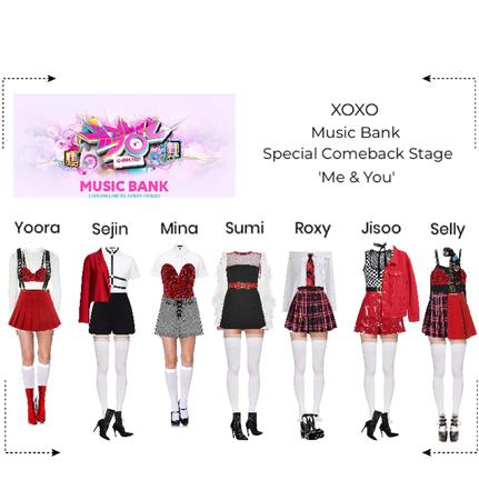 XOXO Special Comebacks Stage
