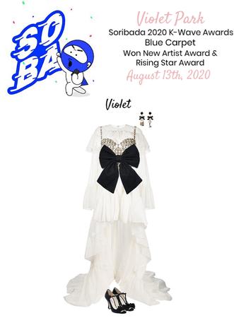 VioletPark _ 'Heroine' Soribada Awards _ Blue Carpet