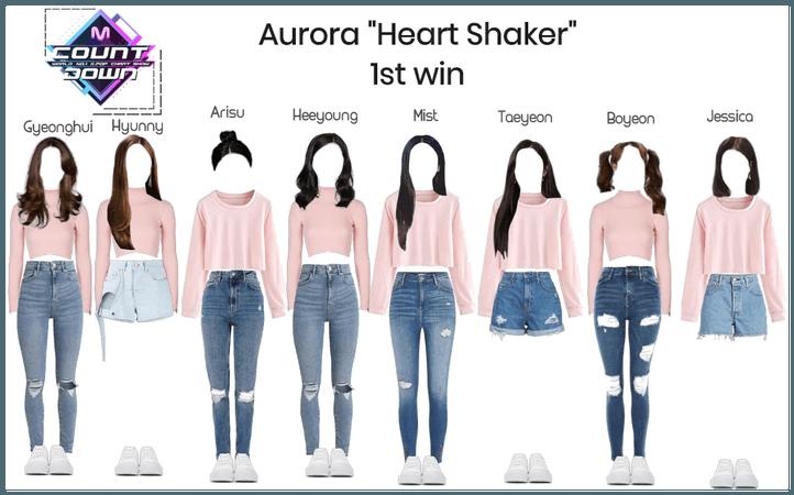 "Aurora ""Heart Shaker"" 1st win"