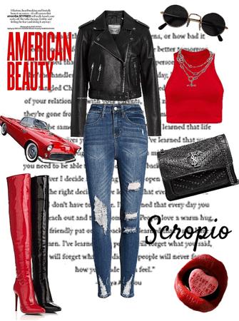 scorpion girl ♏️🦂