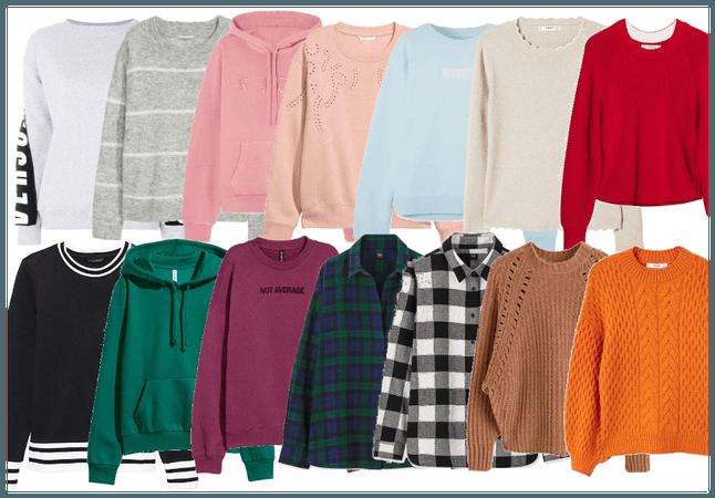 Winter sweaters (Livia Grace)