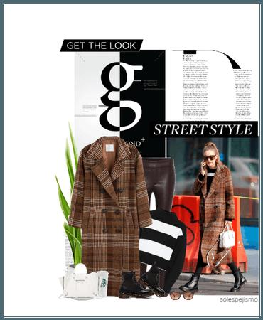 Get The Look: Gigi's Mango coat #PlaidEverything