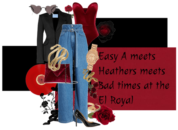 Easy A/Heathers/Bad Times at the El Royal