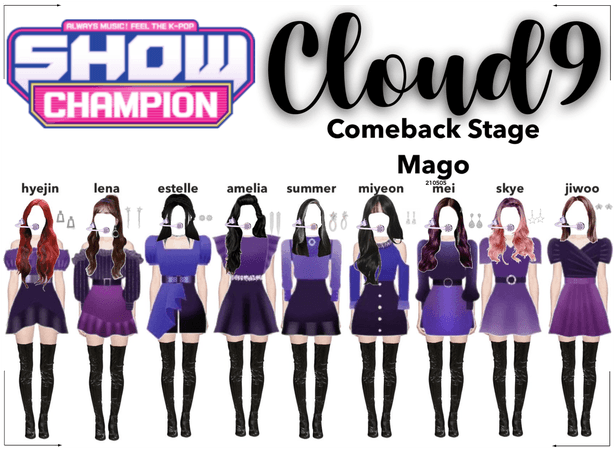 Cloud9 (구름아홉) | [SHOW CHAMPION] Comeback Stage