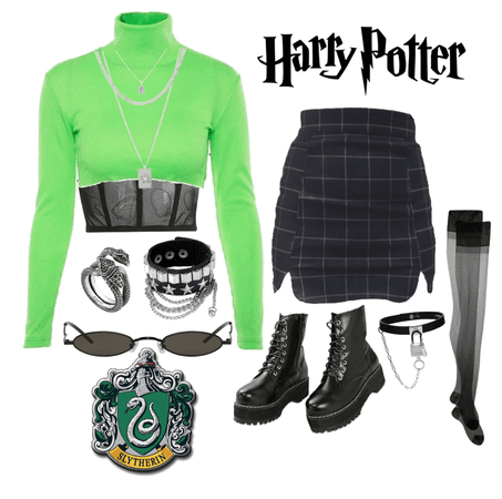 Slytherin Outfit 🐍