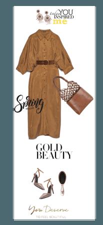 Spring Midi Dress Inspired