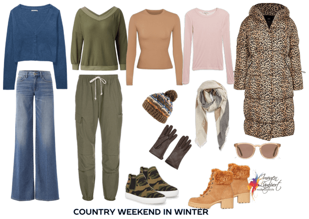 packing for a country weekend in winter