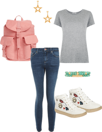 Affordable, cute and casual for school
