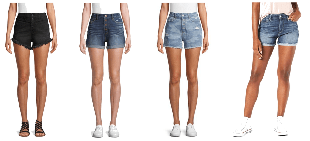 Walmart Denim Shorts