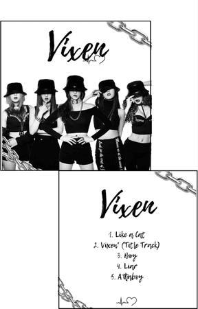 VIXEN ALBUM COVER AND TRACKLIST