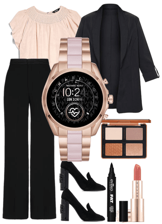 MK smartwatch outfit 2