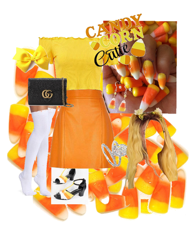 candy corn outfit!!