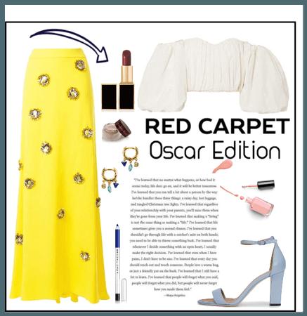 Red carpet - Oscars edition