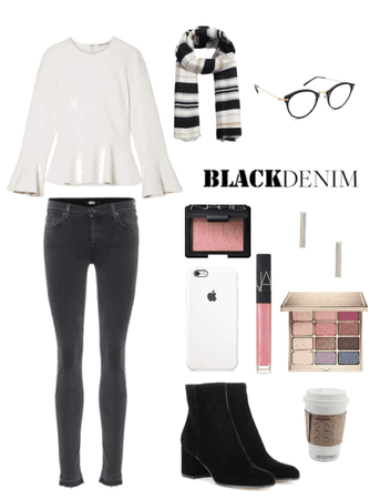 Black & White Winter Look