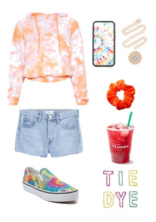 Tie Dyed Summer Outfit