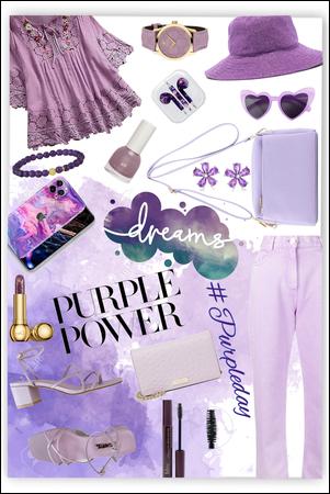 """Purple day"""