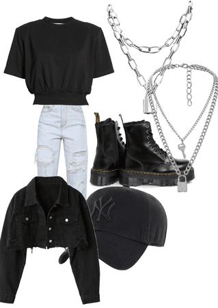 cute black shirt