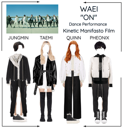 "WAEI II ""ON"" DANCE PERFOREMANCE"
