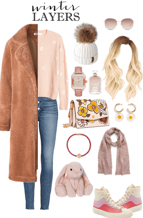 Pink Winter || Winter Layers