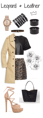 Leopard and Leather entry