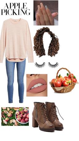 fall apple picking 🍎🍏