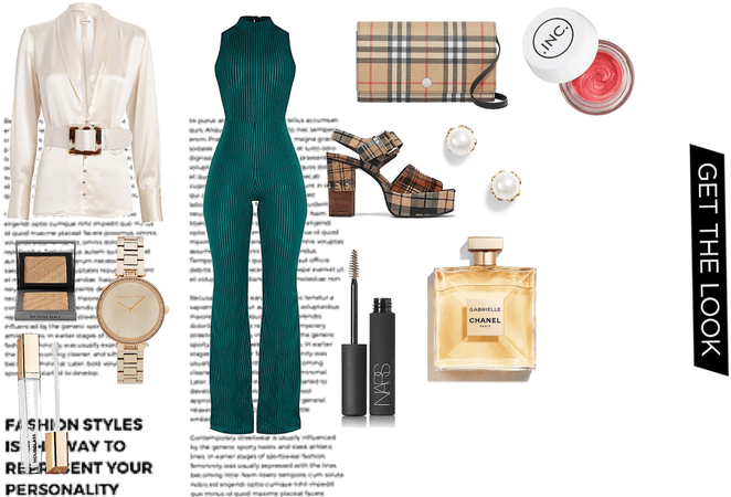 Tartan chic outfit