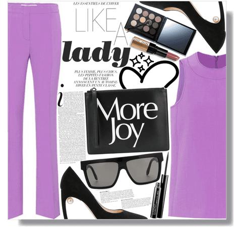 lady in purple 💜