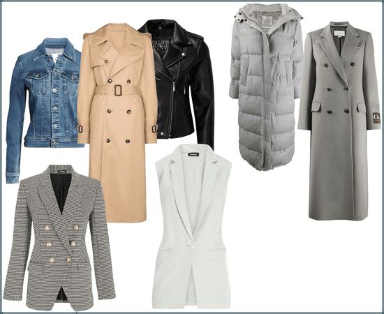 Basic wardrobe coats
