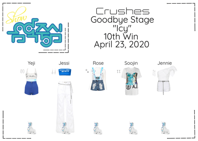 """Crushes (호감) """"쌀쌀한 (Icy)"""" Goodbye Stage 10th Win"""