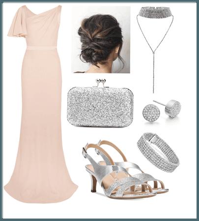 Peach formal