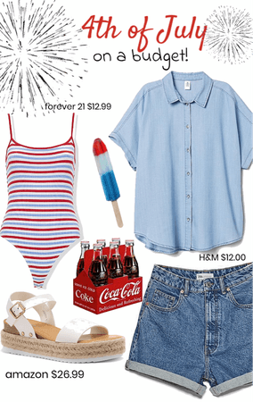 4th of July... on a budget