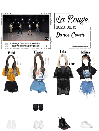La Rouge Dance- HYLT by BlackPink (cover by Rouge Fluo)
