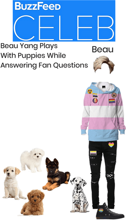 Beau Puppy Interview - Outfit