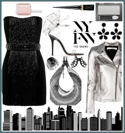 Ny fashion week (B&W #12)