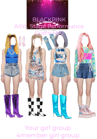 girl group performance outfit