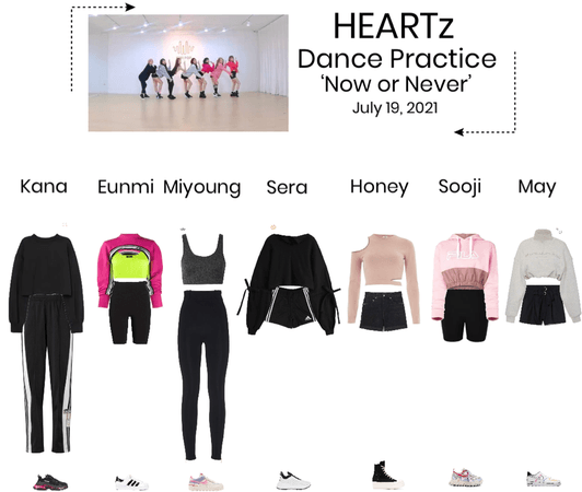 HEARTz//'Now or Never' Dance Practice