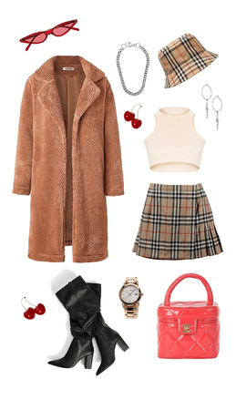 chic and sassy - Burberry but better