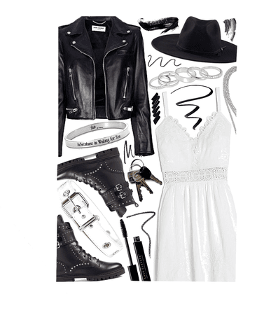 OUTFIT INSPIRATION: girl in leather
