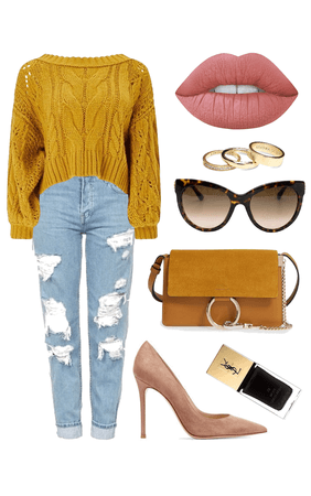 Sweater Weather: Off-the-shoulder Sweater