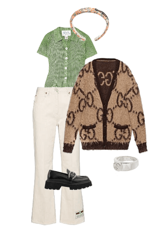 Gucci Fit with Earth Tones