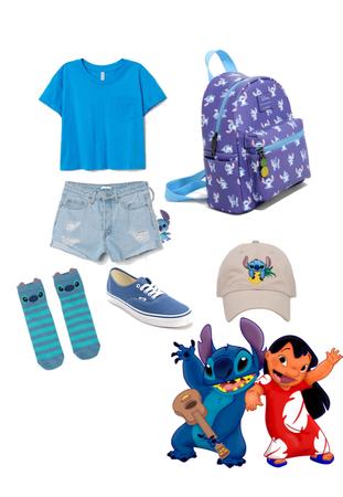 stitch Disney bound